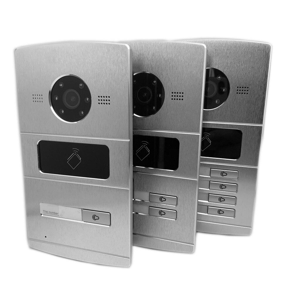 Keyless & wireless intercom panels