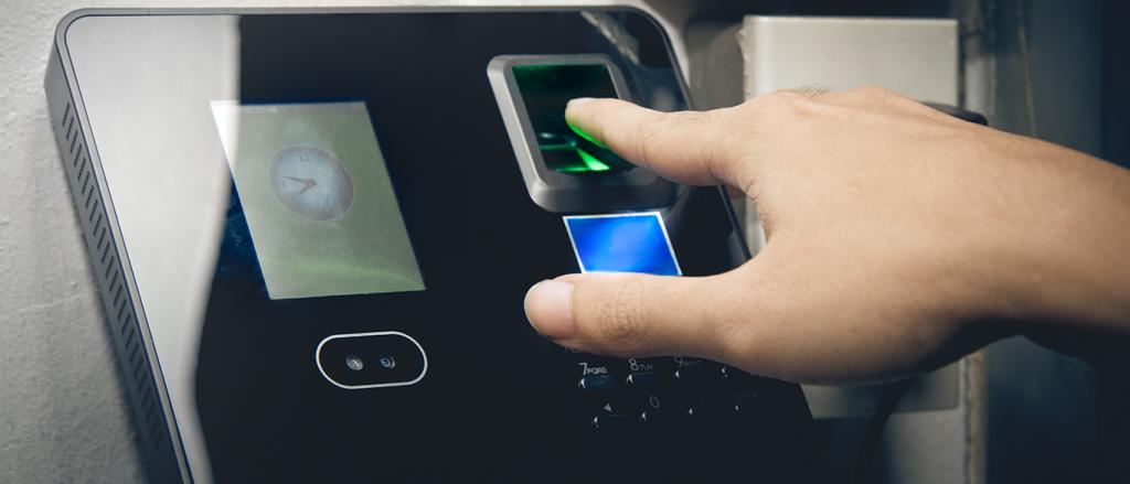 Biometric fingerprint scaner