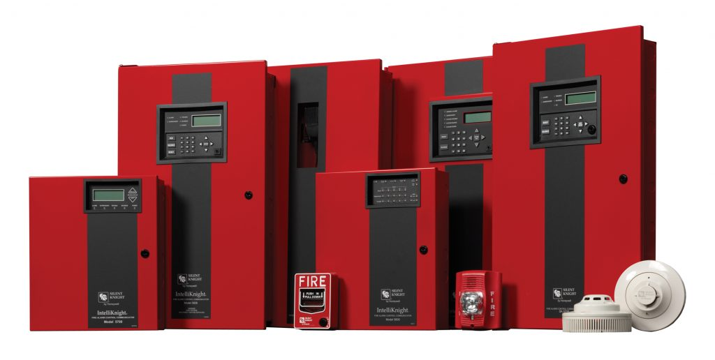 Fire alarm system from Honeywell