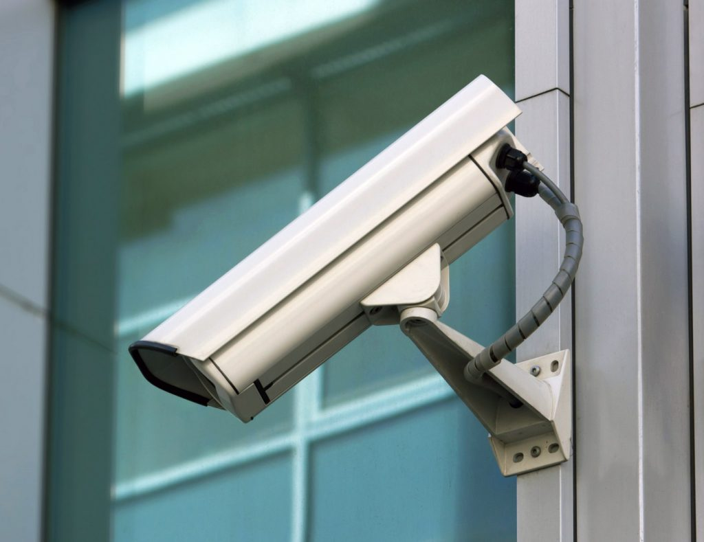 Analog security camera